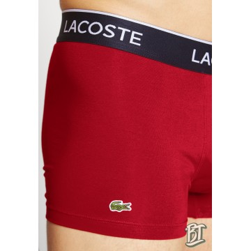 Lacoste Pack Of 3 Casual Black Boxer Briefs - 5H3389-W64