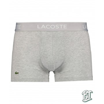 Lacoste Pack Of 3 Casual Black Boxer Briefs - 5H3389-W72