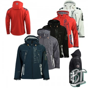 MENS SOFTSHELL JACKET GEOGRAPHICAL NORWAY TOUBLERONA - SQ166H/GN