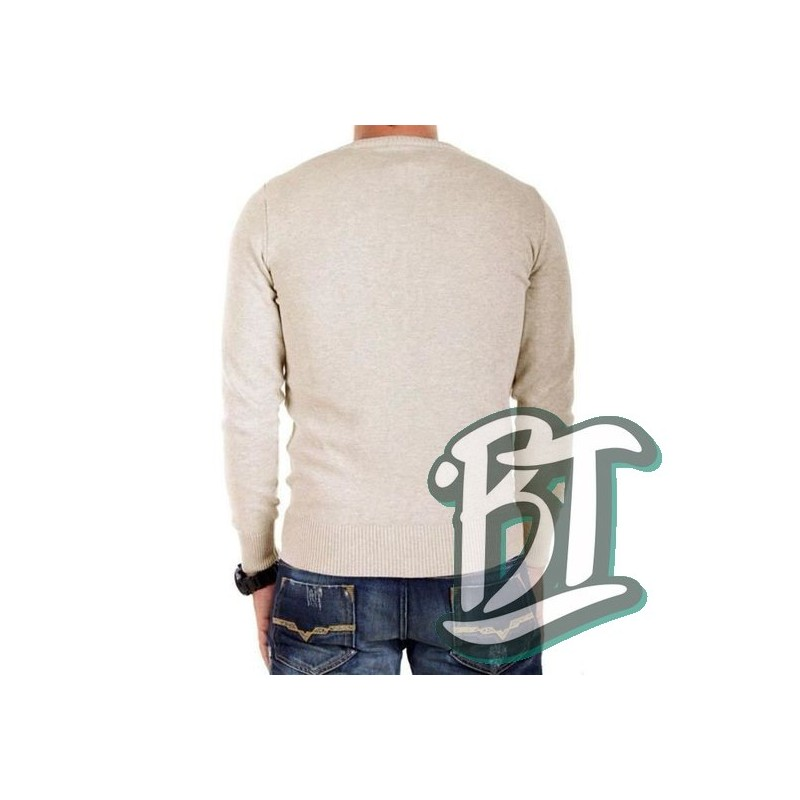 Fred Perry classic cotton V-Neck Sweater K8260