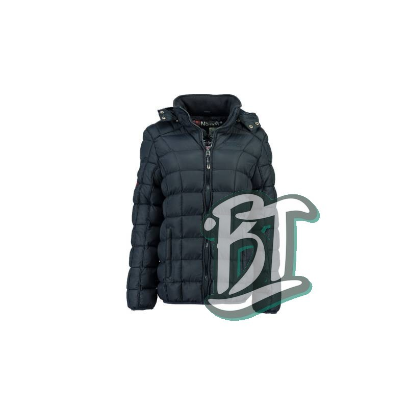 Geographical Norway - BABETTE LADY BLACK DOWN JACKE Navy