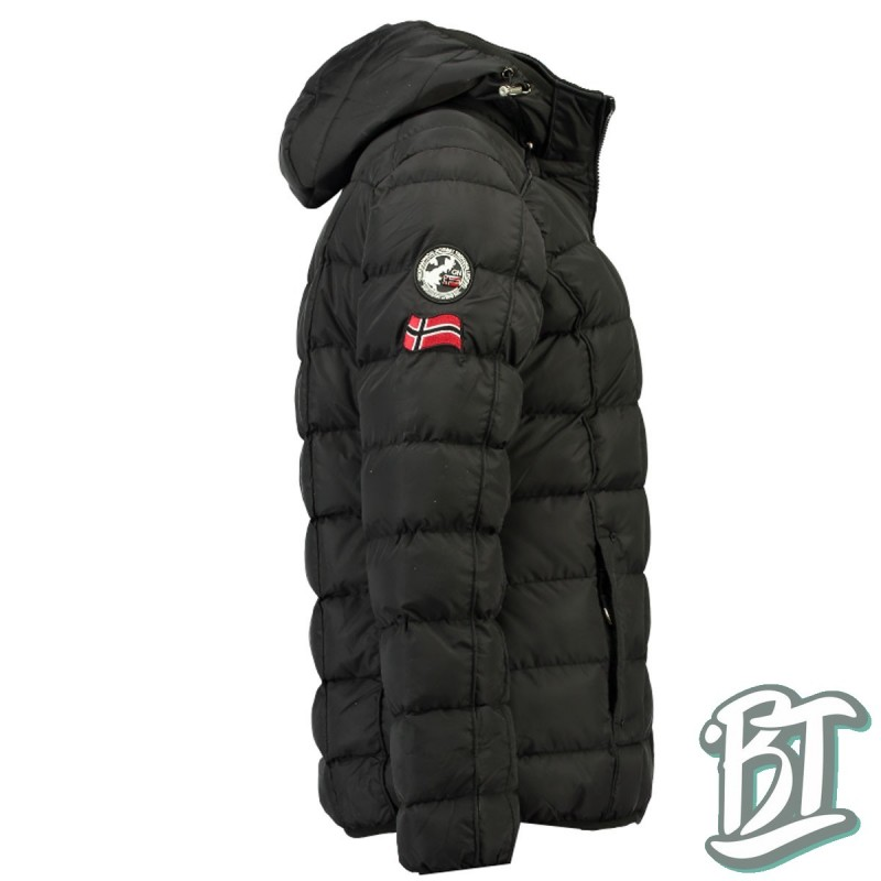Geographical Norway - BABETTE LADY BLACK DOWN JACKE Black