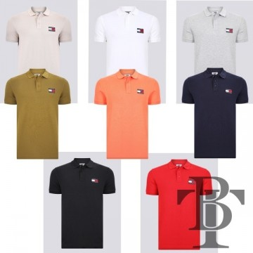 Polo Shirt Tommy Jeans Badge Classic - DM0DM07456
