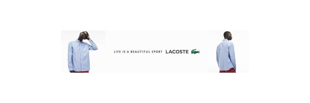Lacoste men's shirts for resellers shop online at B2B Time